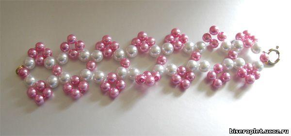 схемы простые браслеты из