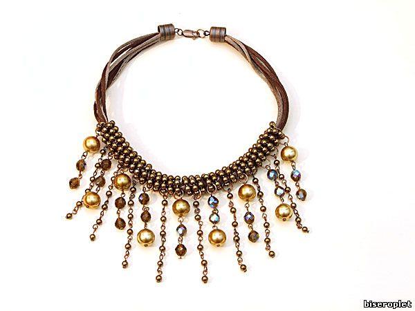 Колье и ожерелья своими руками