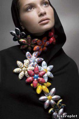 Ожерелье из пробок